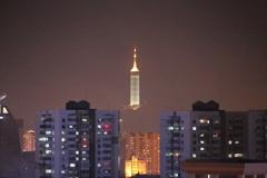 夜...窓から見える景色