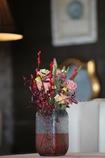 テーブルの花(^_^)