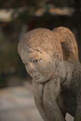 少女の像(^_^)