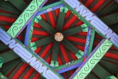 凉亭の天井