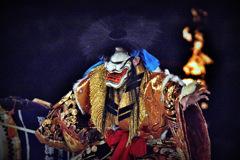 ninjinの出雲の国散歩 稲佐の浜夕刻篝火舞14
