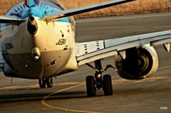 離陸(旅立ち) 米子空港 3