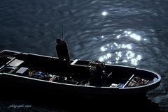 ninjinの松江百景 宍道湖しじみ舟2