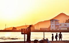 稲佐の浜夕刻篝火舞8
