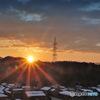 ninjinの松江百景 雪の朝2
