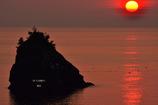 ninjinの松江百景 日本海燃える