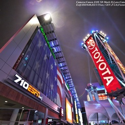 CANON Canon EOS 5D Mark IIで撮影した建物(L.A. Live☆)の写真(画像)