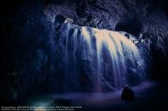Blue waterfall☆