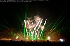 Laser fireworks☆