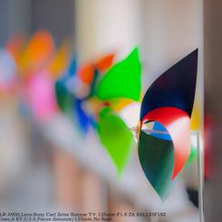 SONY DSLR-A900で撮影したインテリア・オブジェクト(Pinwheel installation☆)の写真(画像)