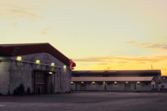 Warehouses Dawn    -KOBE-