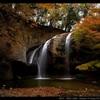 月待ちの滝と紅葉