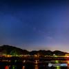 岐阜市から見る天の川