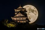 仲秋の名月と岐阜城