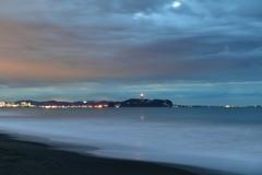 夜明け前 江の島