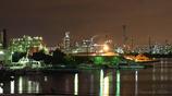 運河の静かな夜