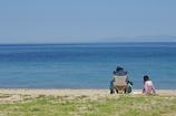 初夏の海岸
