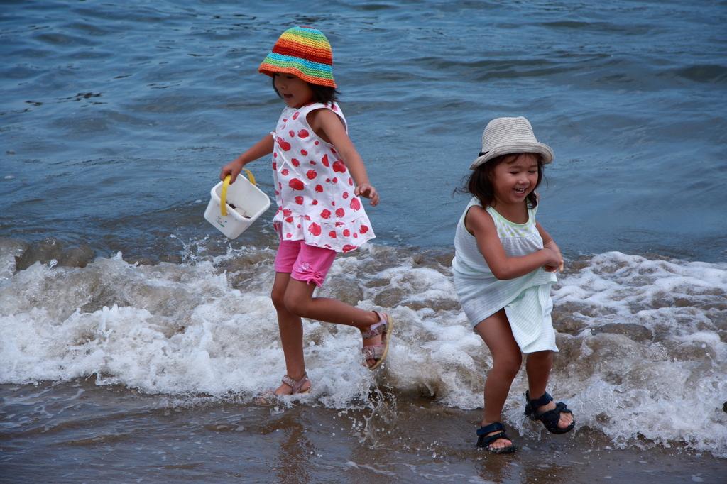 夏休み最後の海