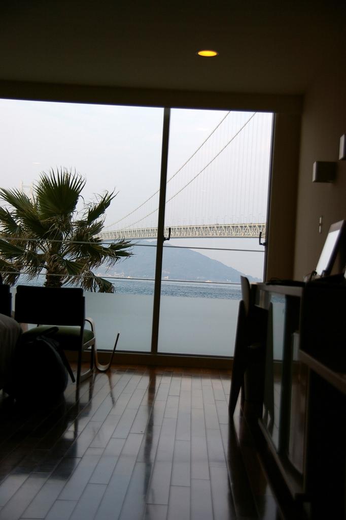 ホテルよりの眺め