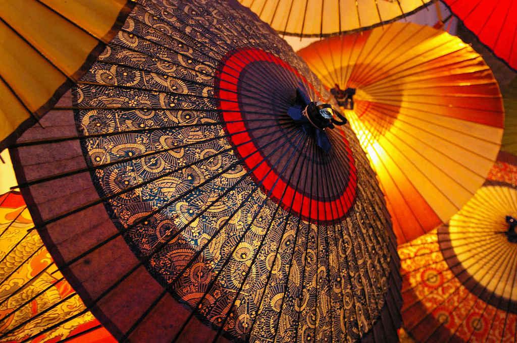 和傘のオブジェ2