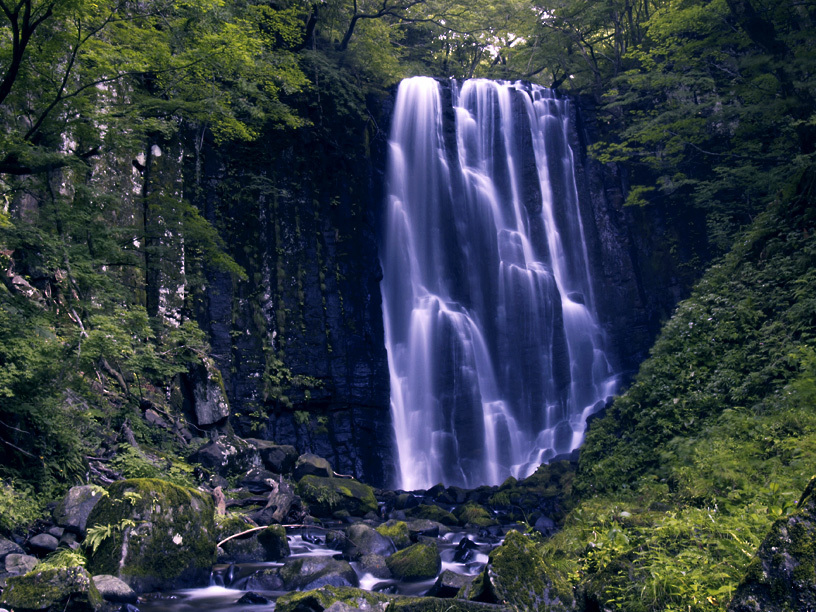 亀田不動滝
