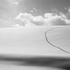 丘の冬-2014 美瑛 《Monochrome》