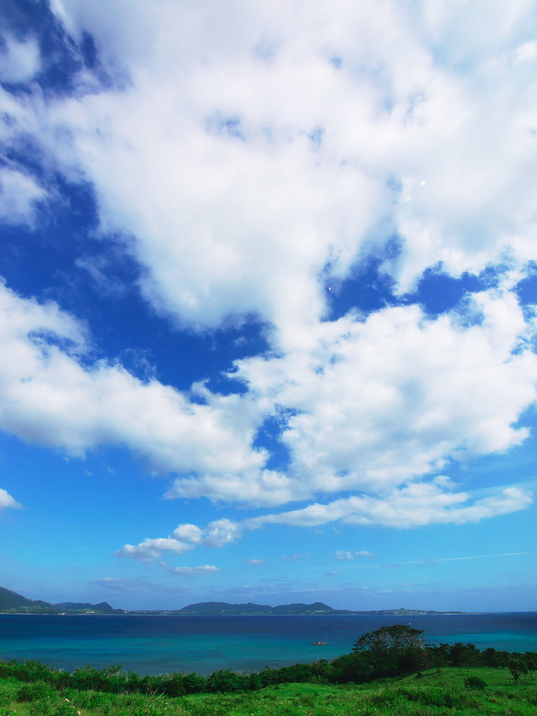 Sky,Clouds,and Sea!!