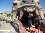 風船迷路恐竜型