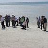 白い貝の海岸 西オーストラリヤ