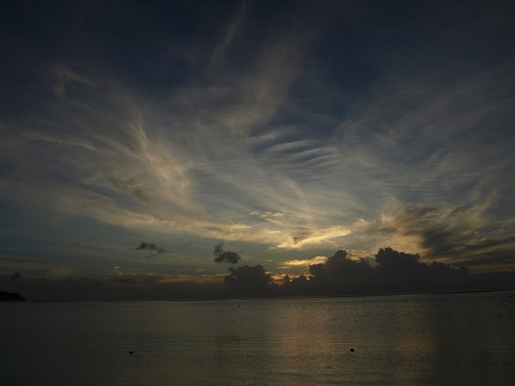 """Tumon Beach"" Sun Set in Guam -3-"
