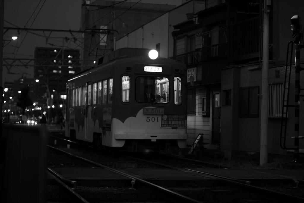 レトロな市電501