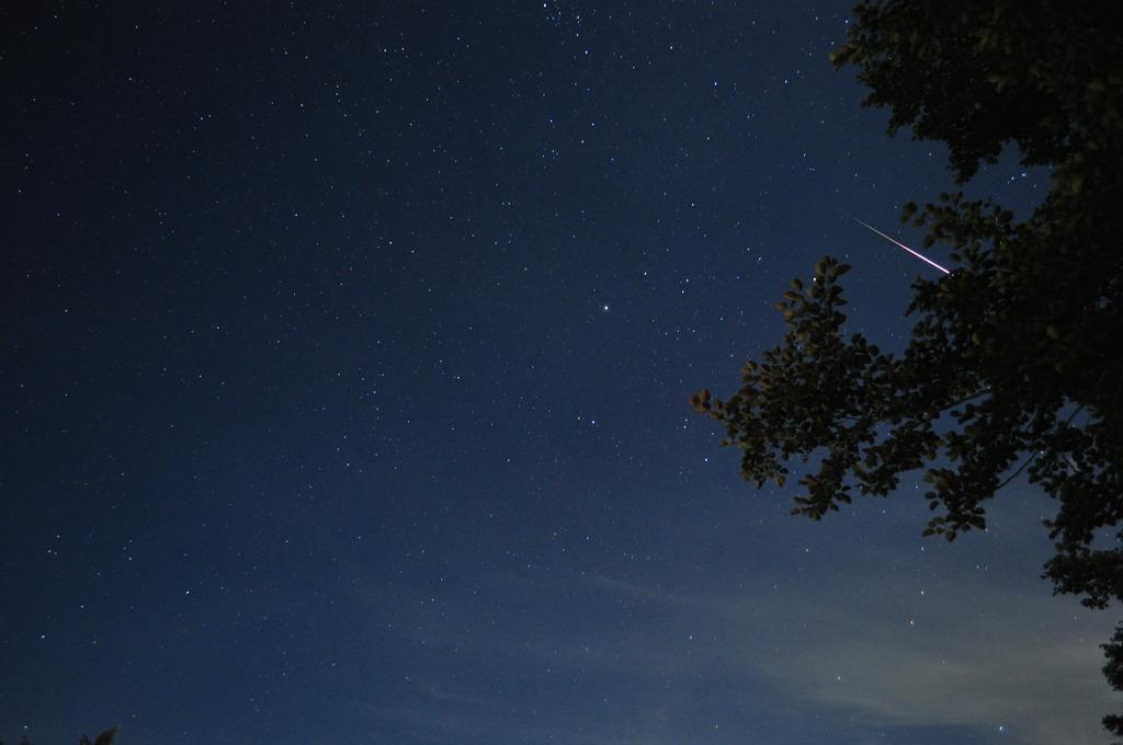 ペルセウス流星群②