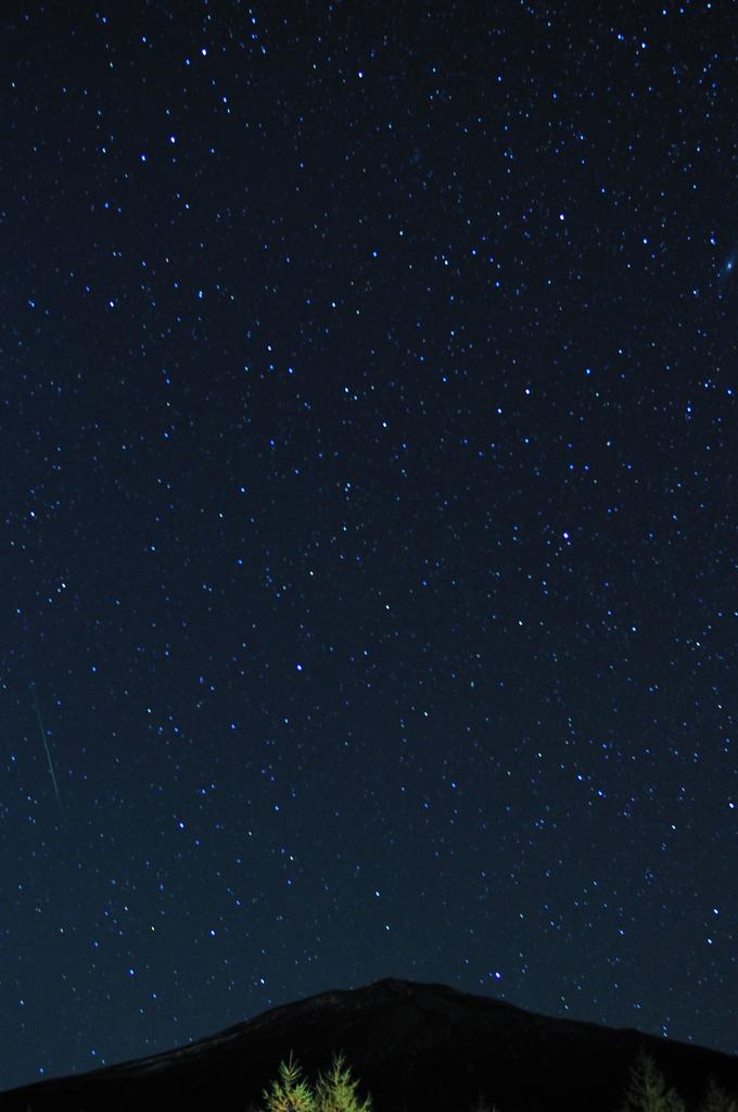 オリオン座流星群①