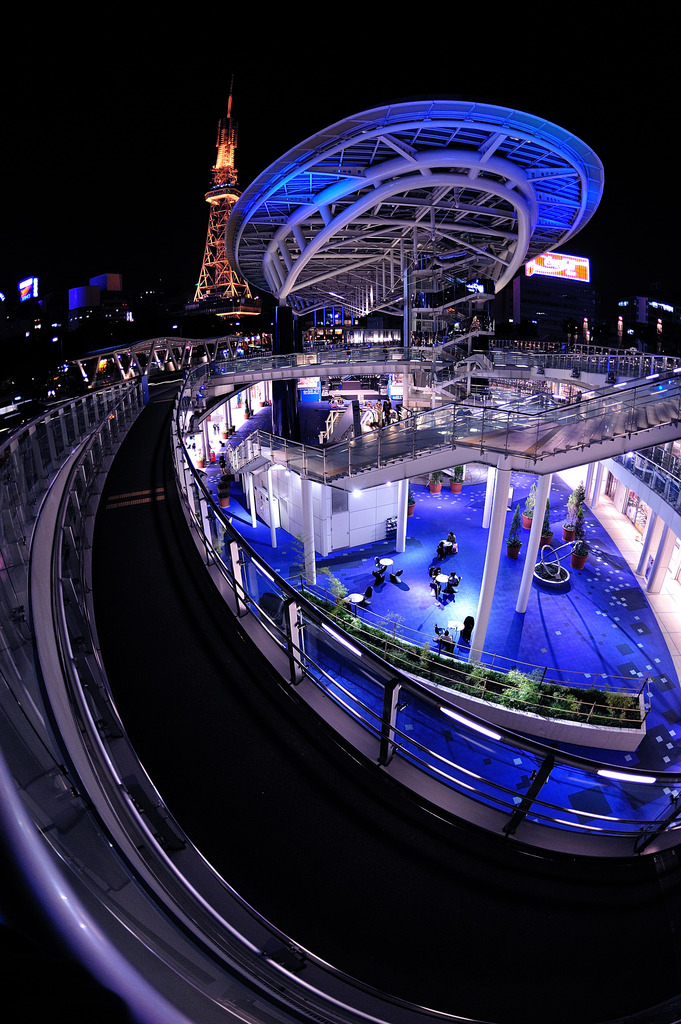未来都市!