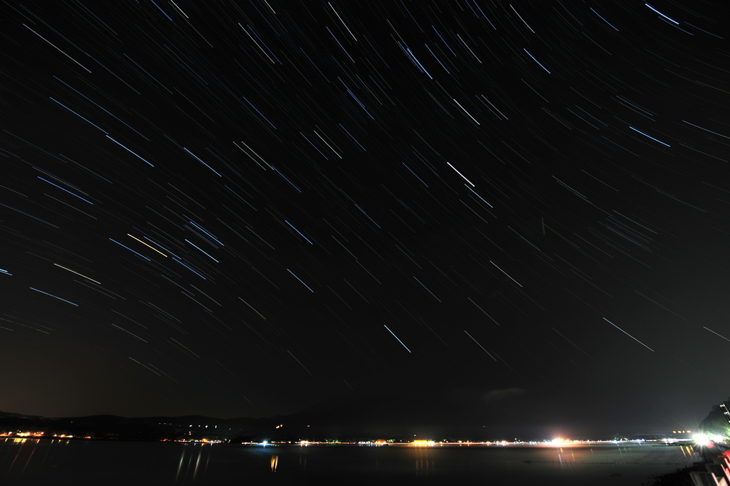 山中湖の星
