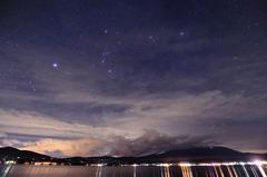 山中湖・・・薄曇。
