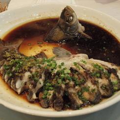 OLYMPUS E-30で撮影した食べ物(白身魚(淡水魚))の写真(画像)