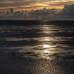 OLYMPUS E-P1で撮影した風景(残照)の写真(画像)