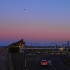 OLYMPUS E-P1で撮影した風景(最北端のマジックタイム)の写真(画像)