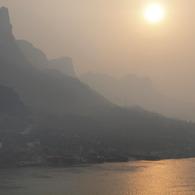 OLYMPUS E-30で撮影した風景(落日)の写真(画像)