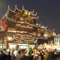 RICOH RICOH R10で撮影した建物(上海商城)の写真(画像)