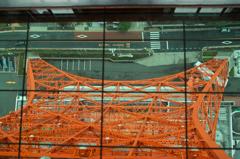 Tokyo tower 上から!