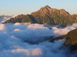雲上の剱岳