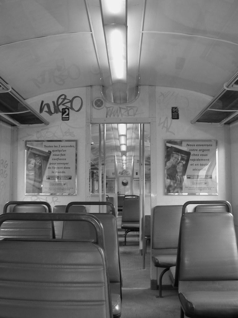 パリの列車
