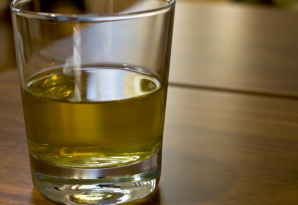 午後の緑茶