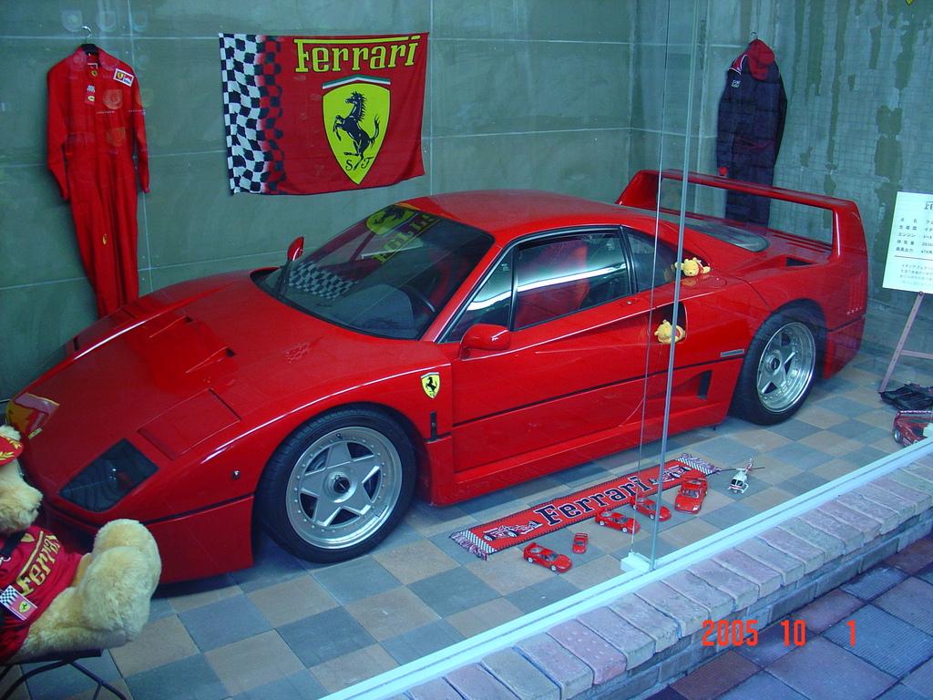 フェラーリF40DSC00036