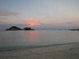 渡嘉敷島阿波連ビーチの朝焼け
