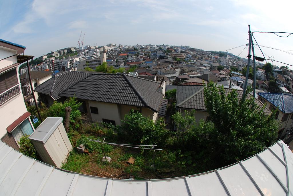 屋根からの風景