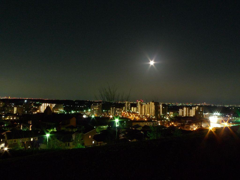 夜景ツアー~みはらし緑地~