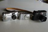 コンパクトカメラの新旧比較です